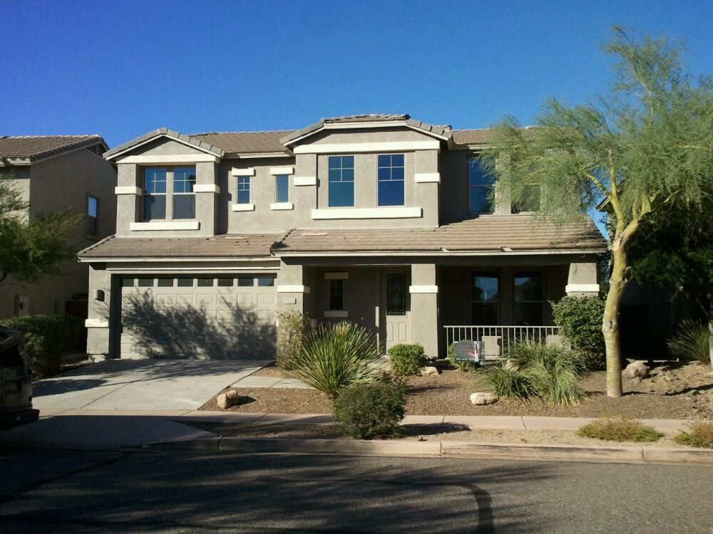 Exterior House Colors · Dunn Edwards Almond For Pop Out Color And Bison  Beige For The Stucco.