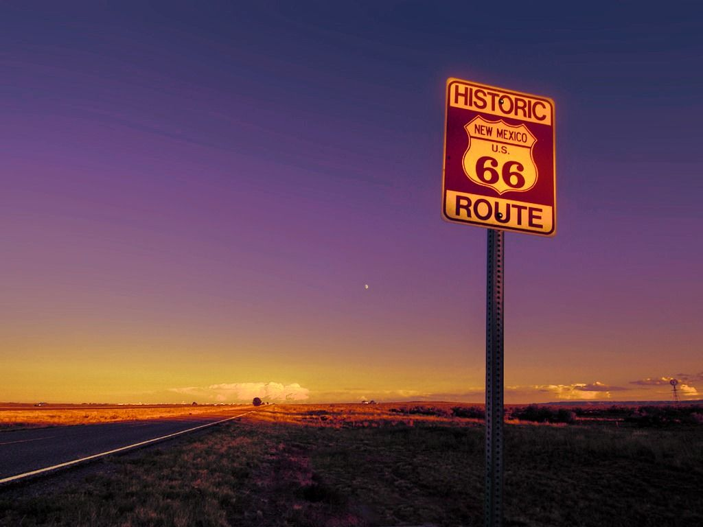 Gonna drive down Route 66!