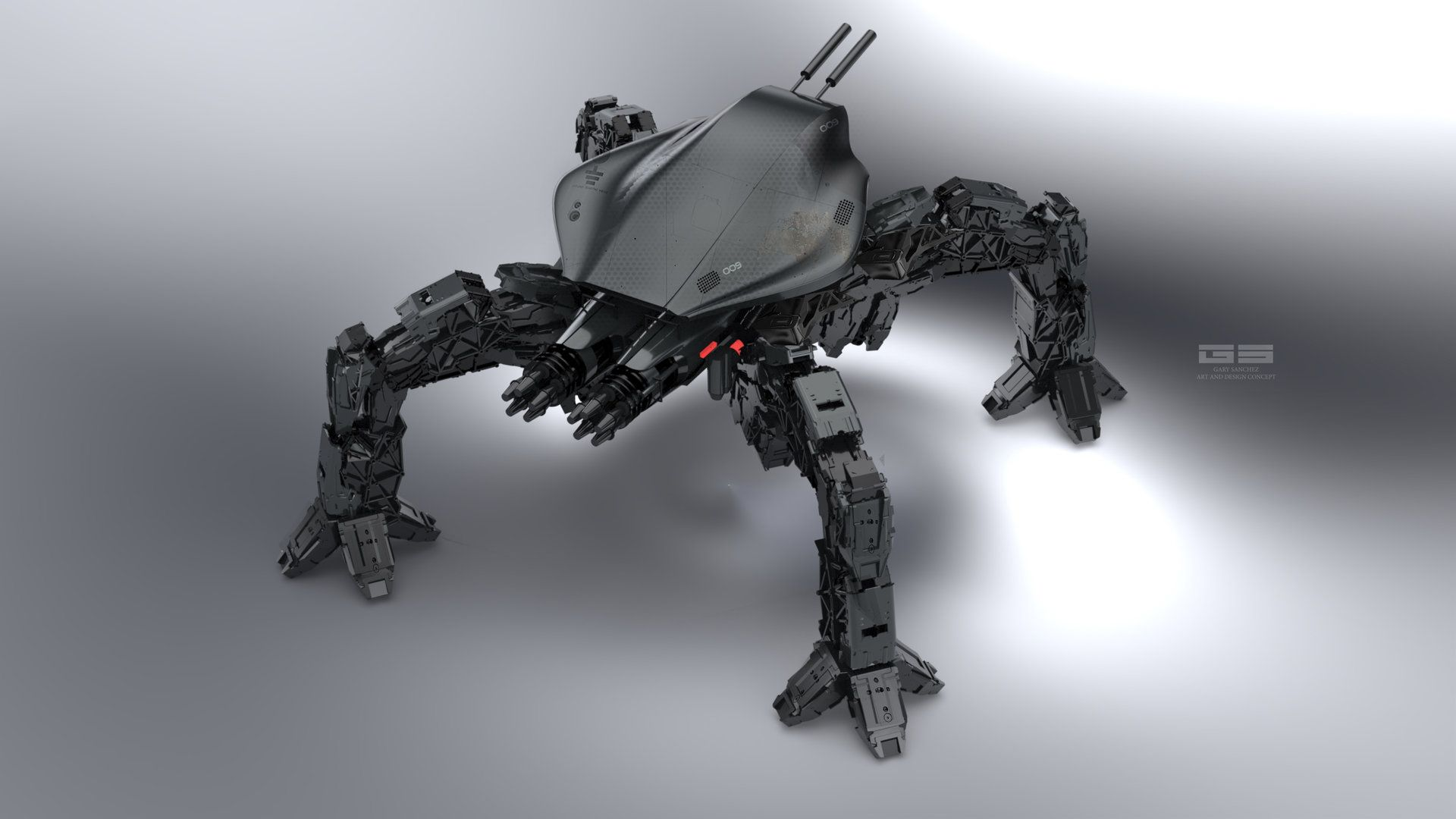 ArtStation - 009 robotics, GARY SANCHEZ