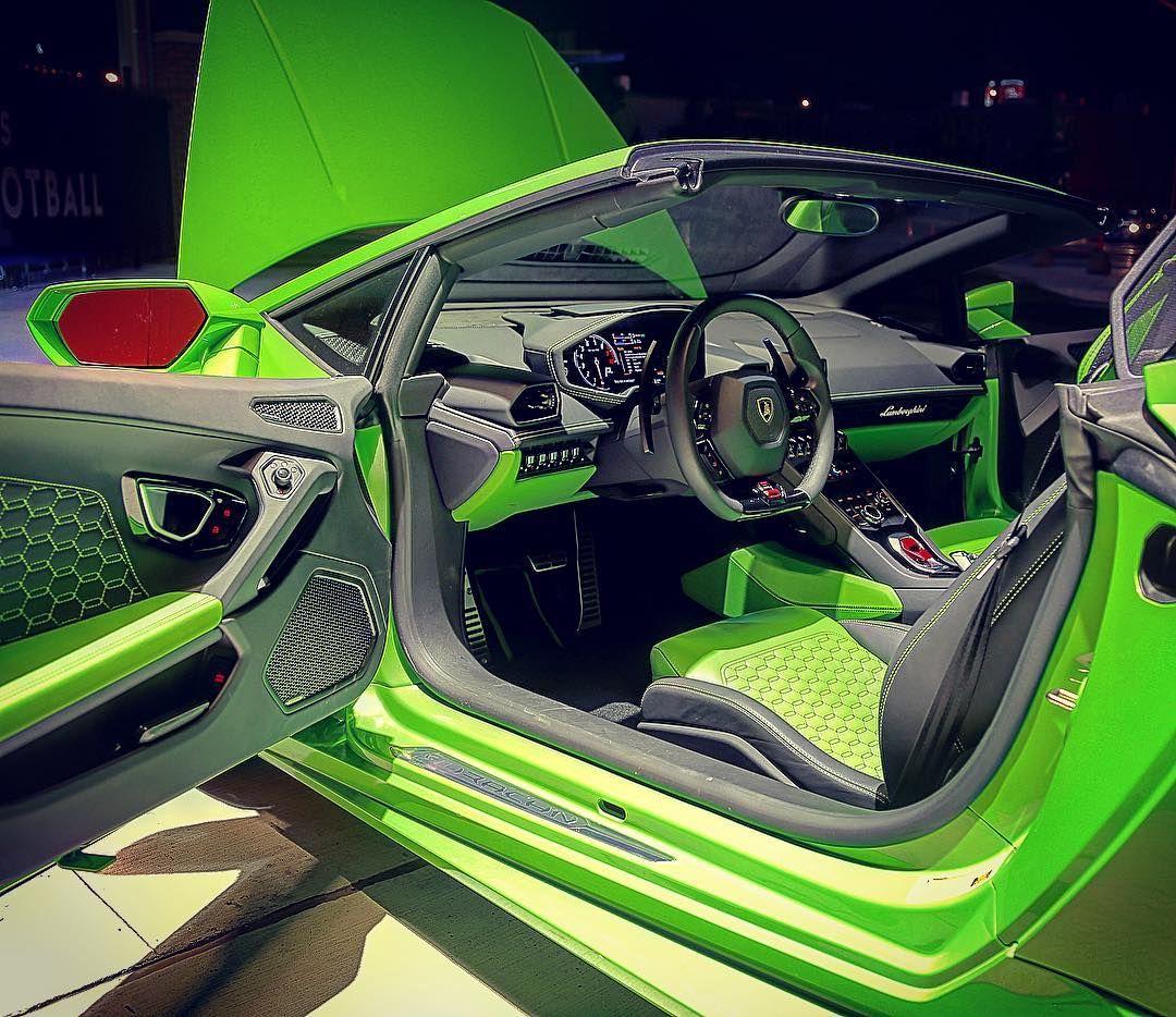 2014 Lamborghini Aventador Interior: Lamborghini Huracan Lime Green And Black Interior