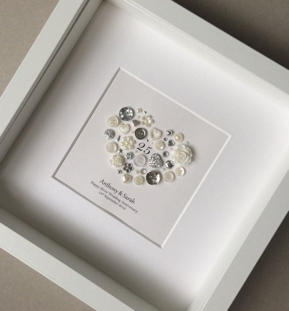 Silver Wedding Gift Ideas: 25th Wedding Anniversary Gift Silver Anniversary Frame