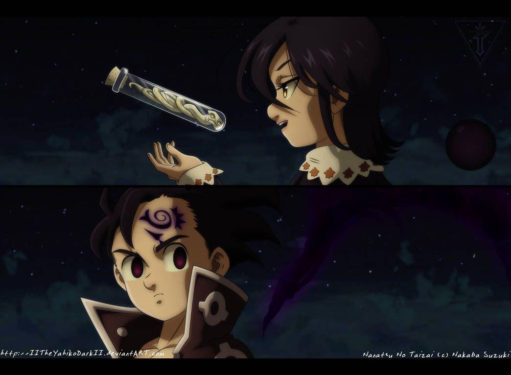 Nanatsu No Taizai 249 The Truth By Iitheyahikodarkii On Deviantart Seven Deadly Sins Anime Seven Deady Sins Seven Deadly Sins