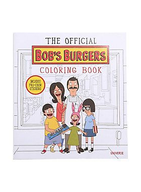 "The official <i>Bob's Burgers</i> coloring book contains fan-favorite scenes and never-before-seen script covers featuring all the colorful characters that populate the world of <i>Bob's Burgers. </i>You can design and build your own burger of the day, or use the 25 full-color stickers to decorate your erotic friend fiction notebook, legal documents from your fake law firm, or anything else that looks like it's missing a <i>Bob's Burgers</i> sticker.<br><ul><li style=""list-style-position…"