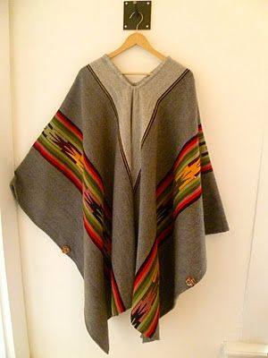 ALPACA PONCHO FROM PERU $200