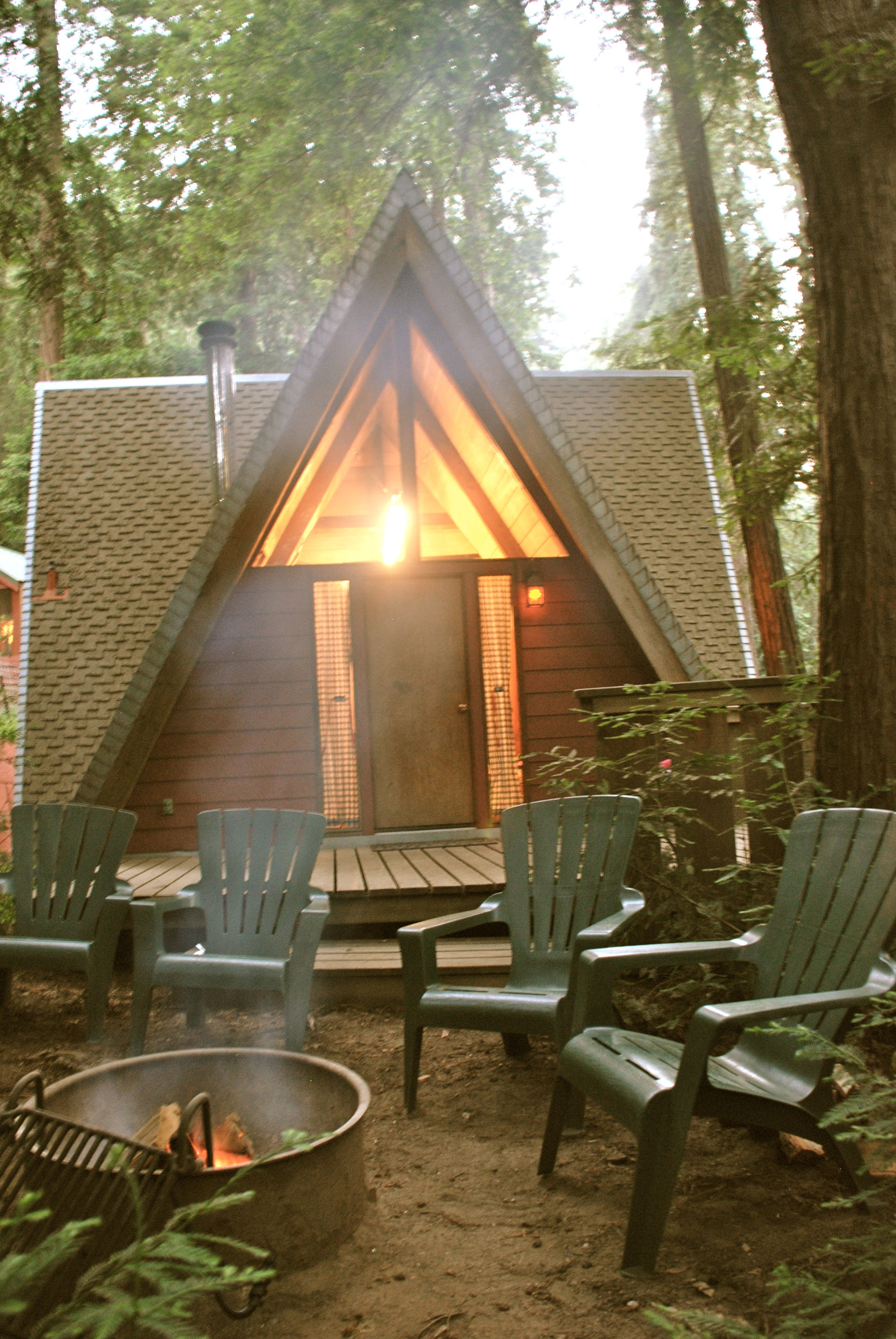 Big Sur Campground Cabins Cabins And Cottages Cabins In The Woods Small House Floor Plans