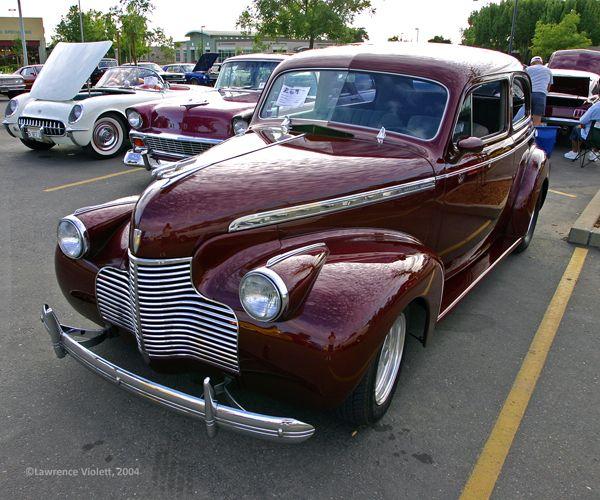 1940 Chevy 2 Door Sedan Antique Cars Classy Cars Unique Cars