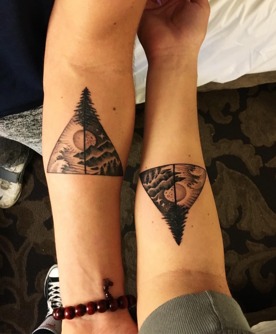 BrotherSister Tattoos POPSUGAR Celebrity Twin tattoos