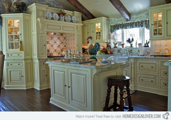 15 Fabulous French Country Kitchen Designs