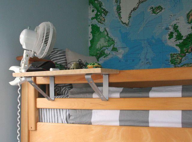 Best 25+ Bunk bed shelf ideas on Pinterest : Loft boards ...