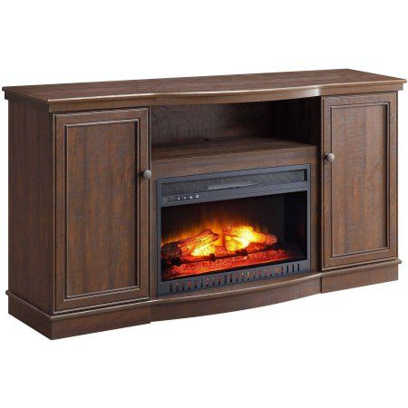 Amazing Whalen Media Fireplace For Tvs Up To 65 Rustic Brown Download Free Architecture Designs Terstmadebymaigaardcom