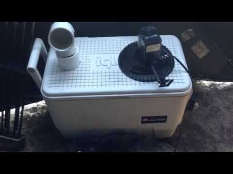 Ice Chest Air Conditioner Burning Man I Go Pinterest