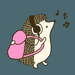 Hedgehog Diary | Hedgehog drawing, Hedgehog illustration, Cute ...