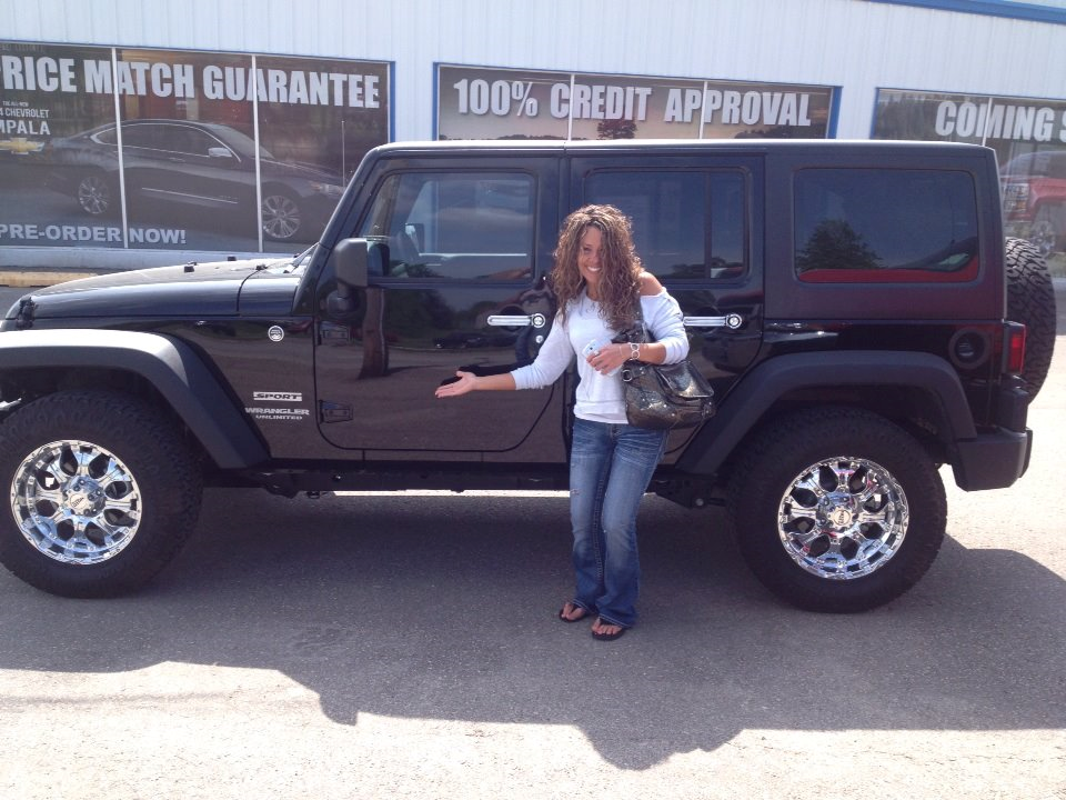 2013 Jeep Wrangler -Her name is Myrtle :)