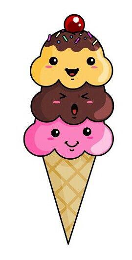 Cute Ice Cream Cute Food Drawings Cute Drawings Und Kawaii Drawings