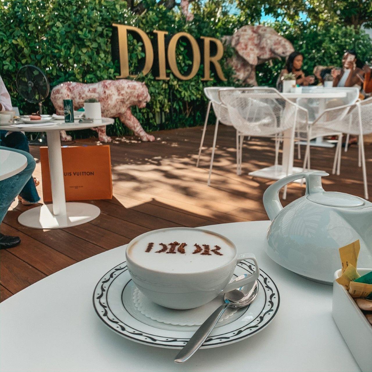 Dior Miami Cafe Luxury Food Miami Restaurants Aesthetic Food