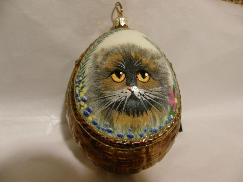 Adorno Navideño de gato.