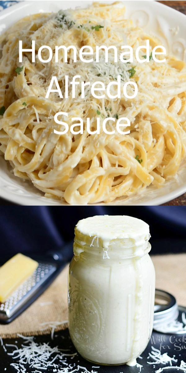 The BEST Alfredo Sauce Ever!