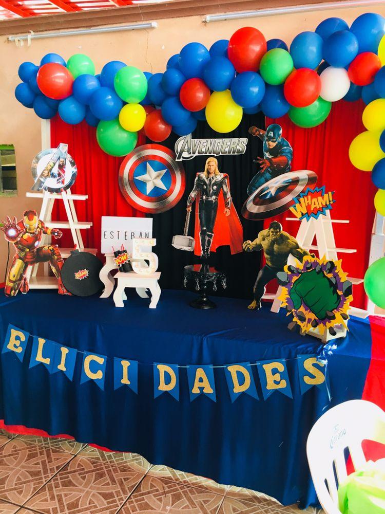Avengers Fiesta De Los Vengadores Fiesta De Los Avengers Cumpleaños De Los Vengadores
