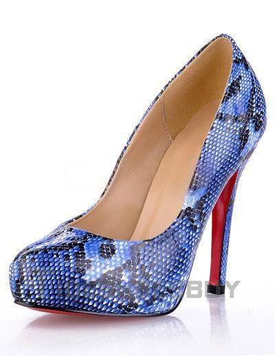 Womens Shoes snakeskin rhinestone stilettos pump Heels