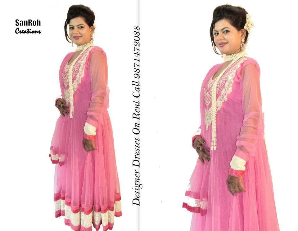 Anarkali Suits On Rent In Delhi Ncr Call 9871472088 Wedding Dress Types Rent Dresses Formal Dresses Long