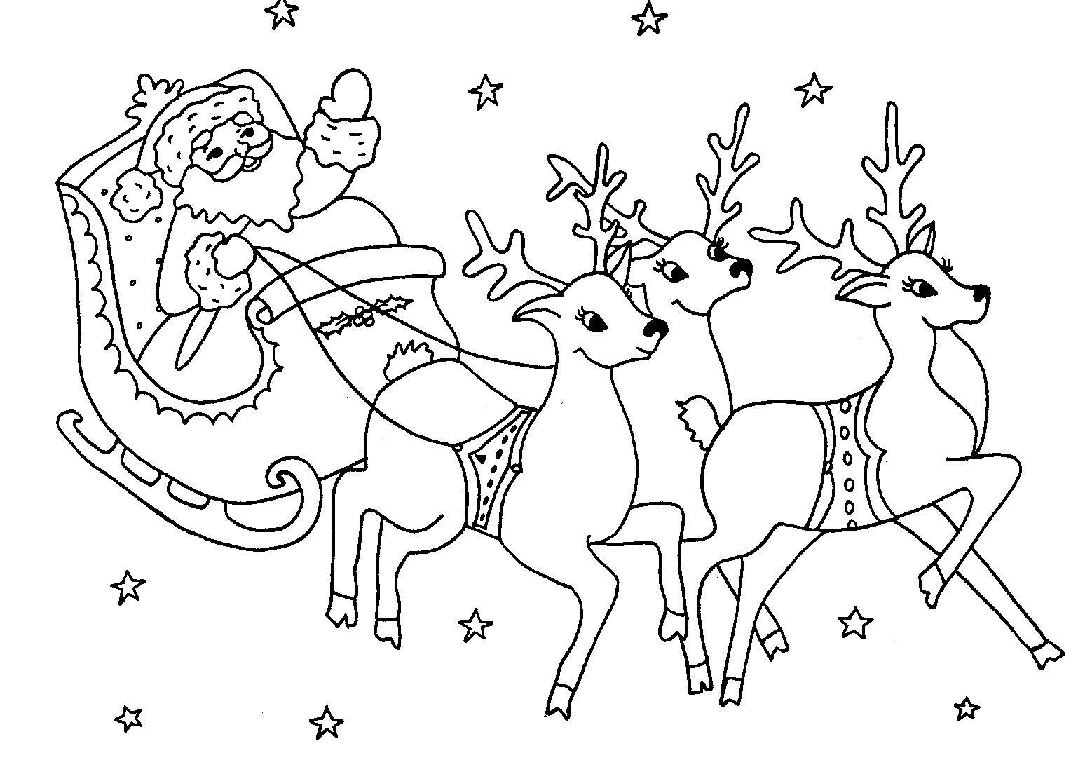 Pin De Shirley Arrieta Porras En Navidad Papa Noel Para Pintar Dibujos De Navidad Para Imprimir Trineo De Santa