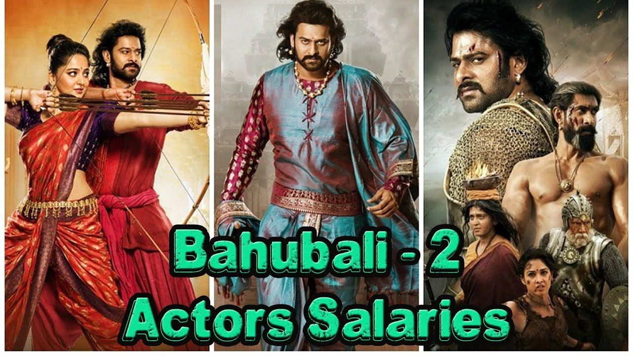 Bahubali - 2 Actors Salaries | Entertainment | Bahubali 2