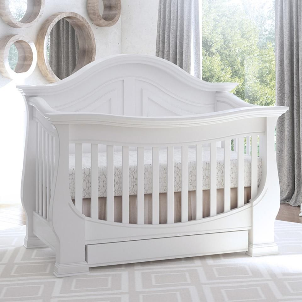 Eco Chic Baby Dorchester Curved Convertible Crib with Storage Drawer - Pure White  sc 1 st  Pinterest & https://truimg.toysrus.com/product/images/E9AC4487.zoom.jpg | Prod ...