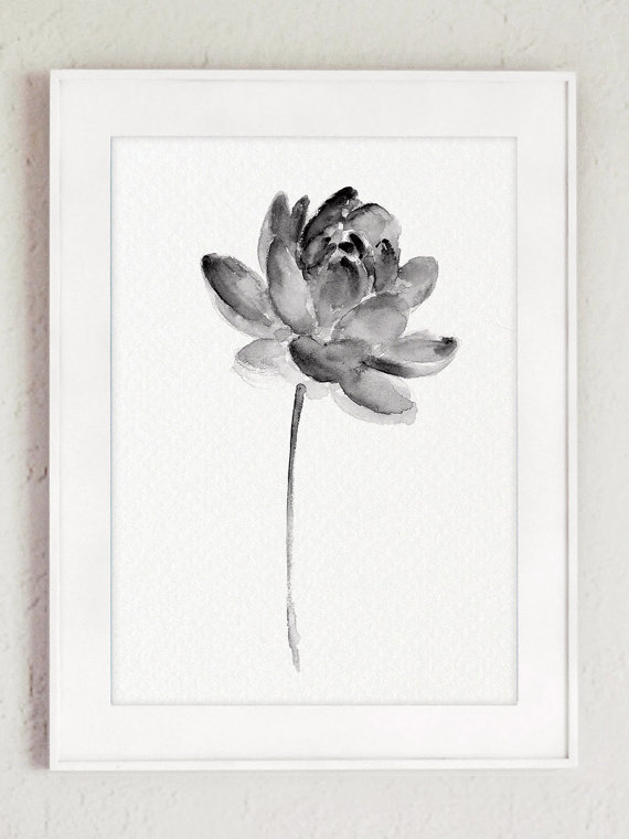 Lotus set 2 print asian flowers abstract by colorwatercolor lotus set 2 print asian flowers abstract by colorwatercolor tatuagens pinterest asian flowers flower watercolor and flower art mightylinksfo