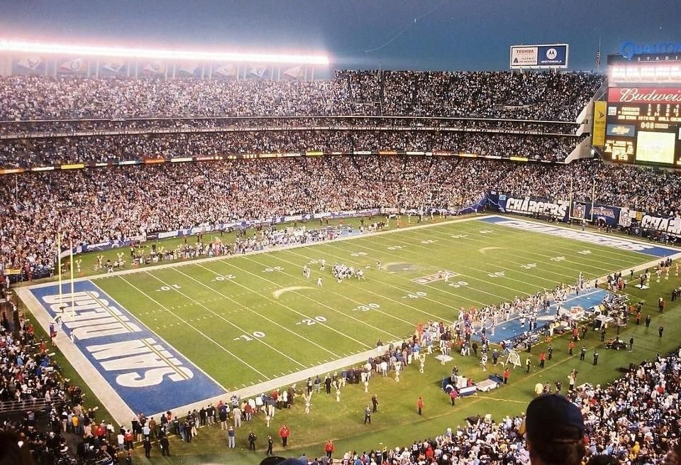 R I P San Diego Chargers The Move To L A Is Official San Diego Chargers Nfl Stadiums San