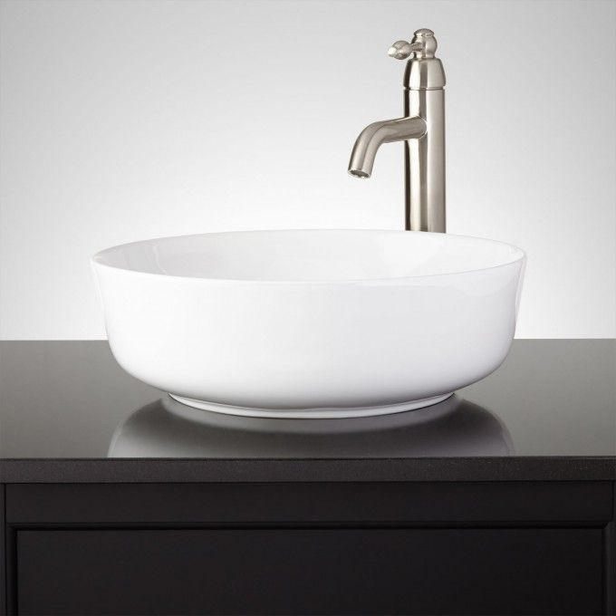 Avanzi Round Vessel Sink - Vessel Sinks - Bathroom Sinks - Bathroom - Vessel Sinks Bathroom