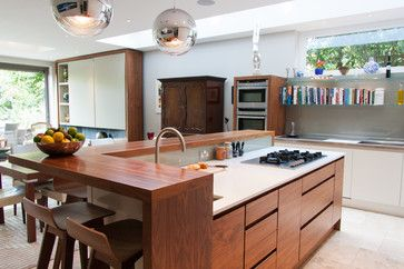 Simon - contemporary - Kitchen - London - Andy Stone Bespoke Interiors