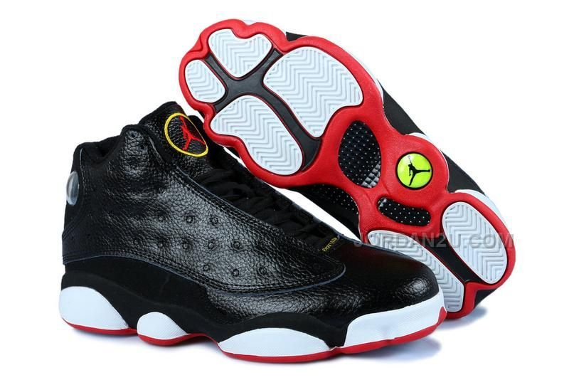 big sale de356 5c1bc Air Jordan 13 Playoffs Black and Red, Price   86.00 - New Air Jordan Shoes  2016 - Jordan2U.com