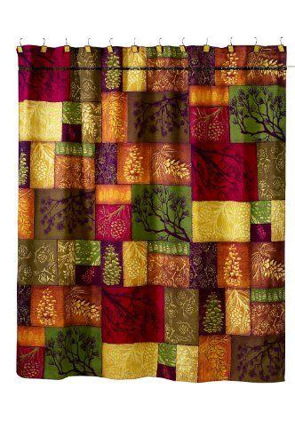 Avanti Adirondack Pine Shower Curtain $35.99 (10% OFF)