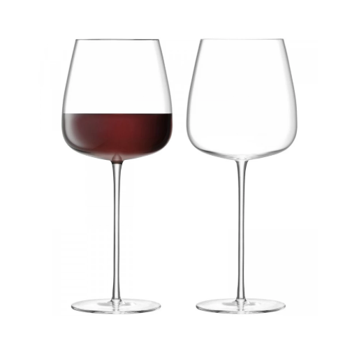 Wine Culture Red Wine Goblet Set Of 2 By Lsa Wine Goblets Wine Culture Red Wine