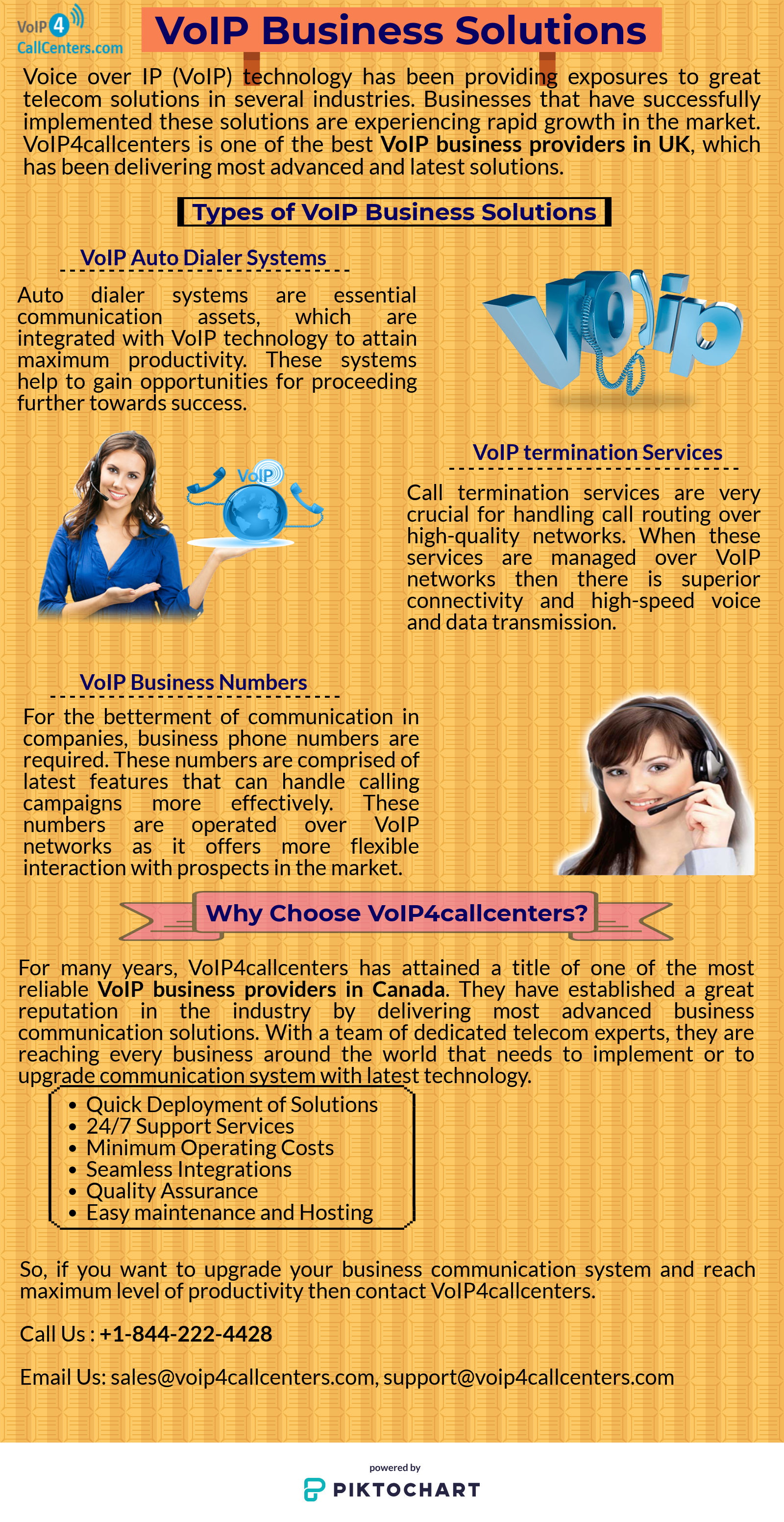 Voip4callcenters is provide Toll-Free Numbers and VOIP Business