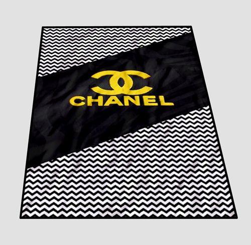 Chevron Coco Chanel Logo Blanket   Blankets   Pinterest   Quilted ... : quilt throws cheap - Adamdwight.com