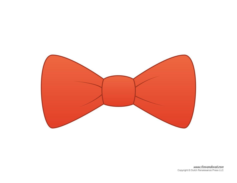 Paper Bow Tie Templates Bow Tie Printables Tie Template Paper Bow Bow Tie Template