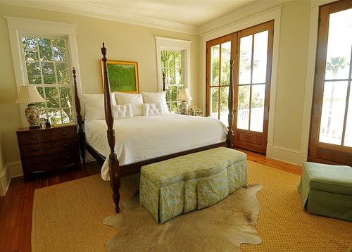 like all the windows - traditional bedroom by Alix Bragg Interior Design,  Craftique bed