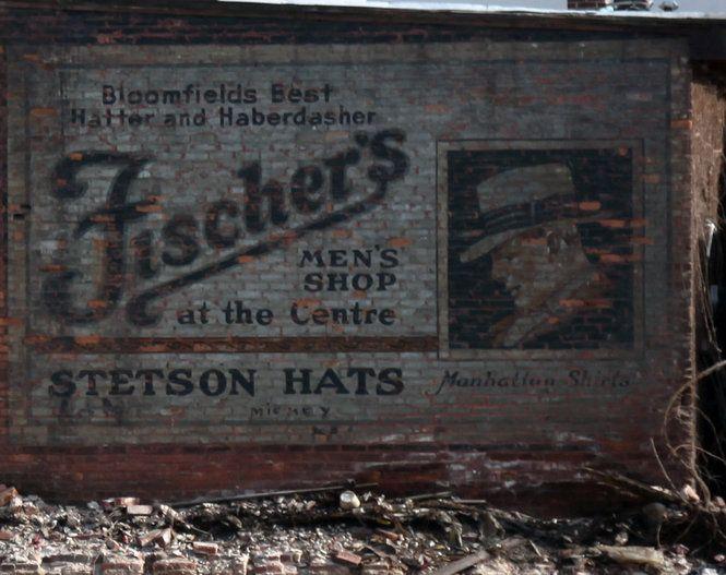 Ghost sign / brick ad