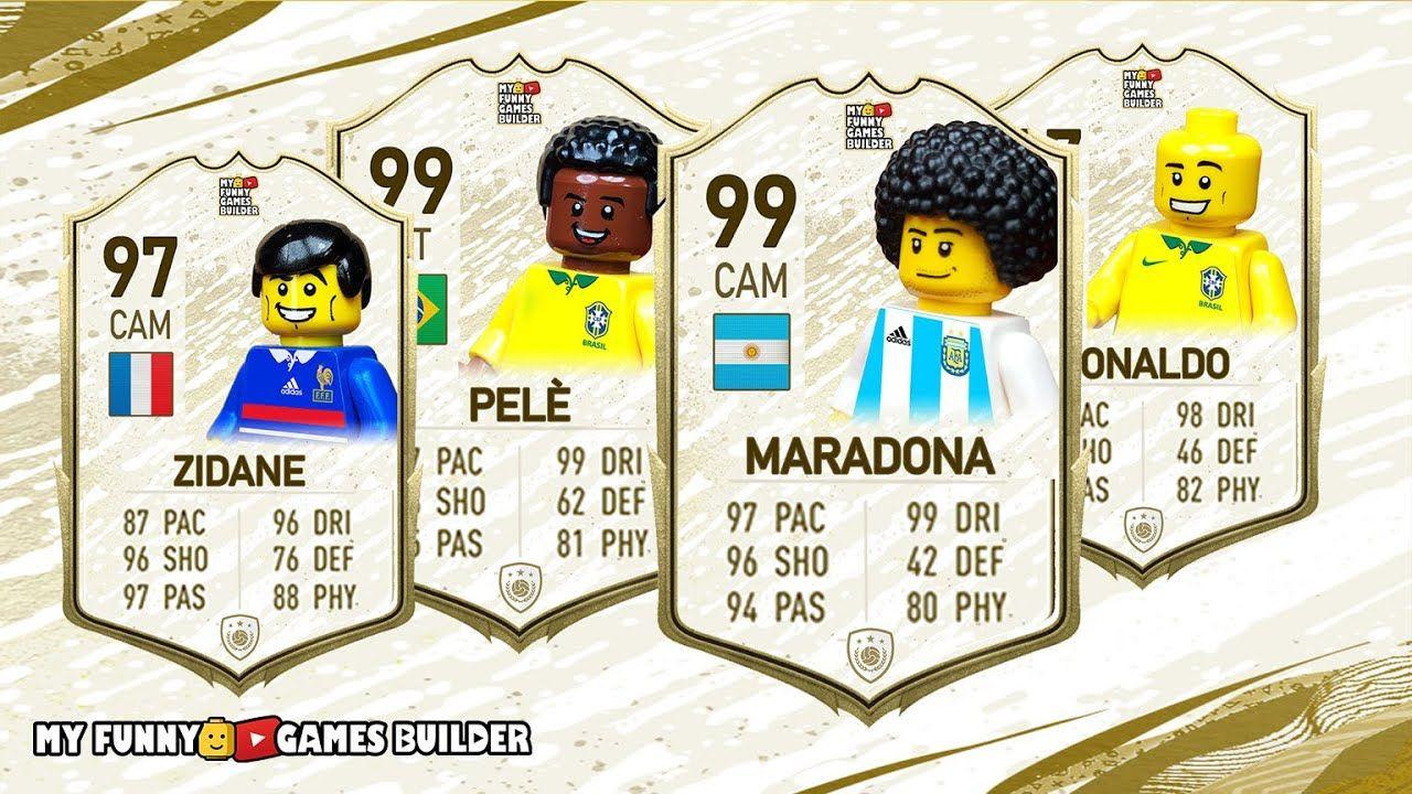 FIFA 20 ICON in Lego • FIFA 20 Ultimate Team in Lego