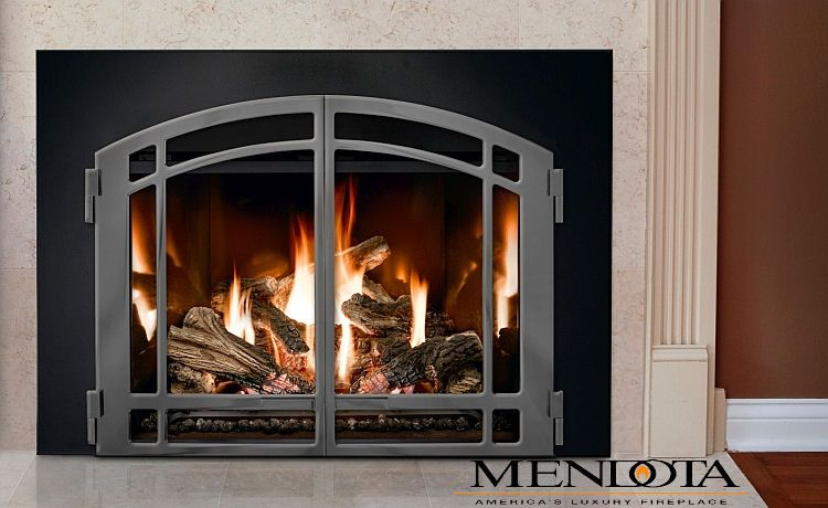 Mendota Fireplace Glass Doors Direct Vent Fireplace Wood Fireplace