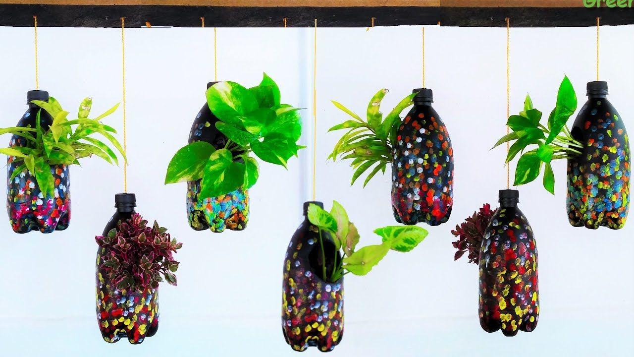 5df5888a9b6a2ccd92efb3ca85678e22 - Diy Plastic Bottles Hanging Flower Gardens