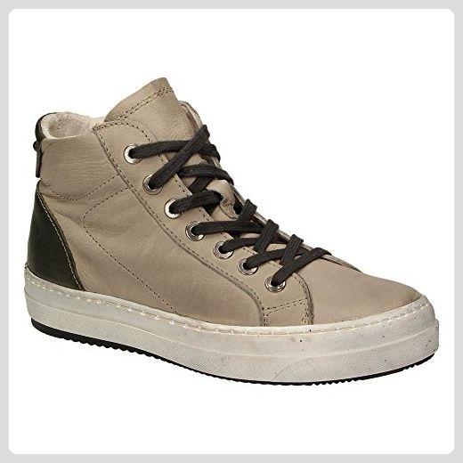 Tamaris – Sneaker aus Leder – Beige