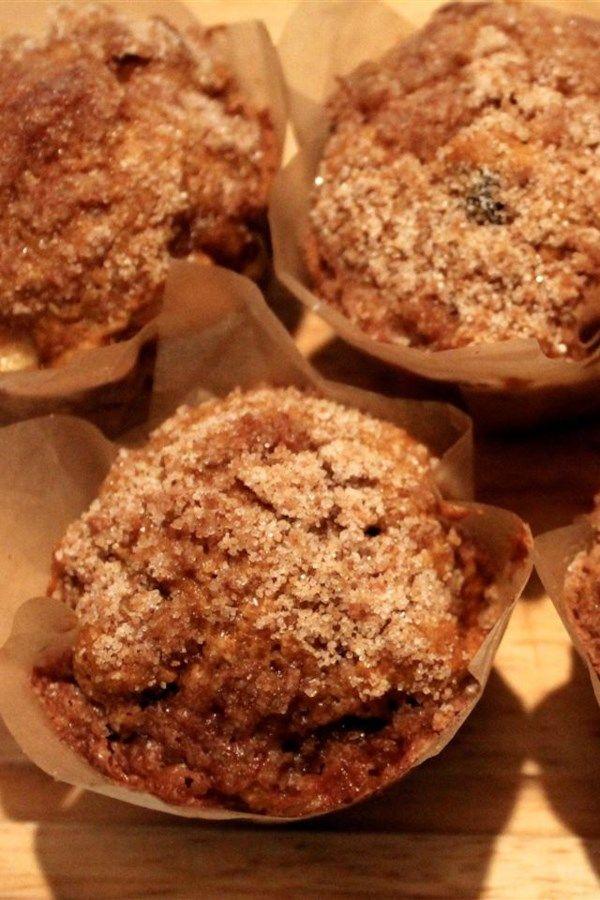 Pumpkin Apple Streusel Muffins | Recipe | Recipes, Yummy ...