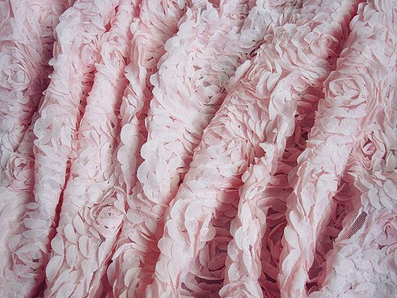 sale shabby chic fabric pink rose floral lace fabric bridal chiffon rh pinterest com