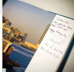 Use A Coffee Table Book In Place Of A Guest Book For More
