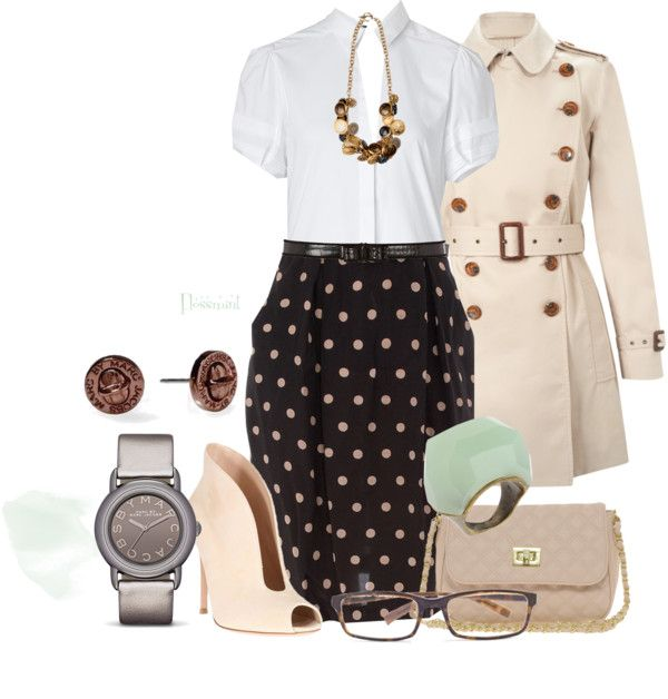 """""""Button-Down"""" by flossmint ❤ liked on Polyvore"""