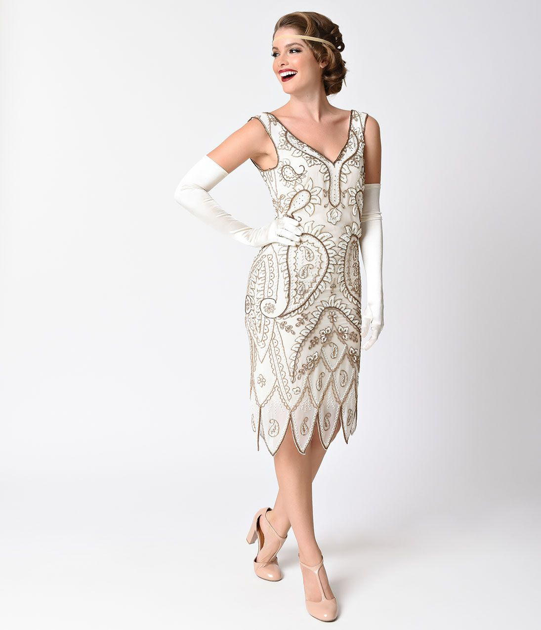 1920s wedding dresses- art deco style | unique vintage, 1920s and
