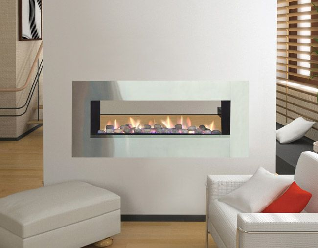 Jetmaster Horizon Low Line Double Sided Fireplace