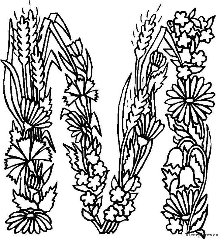 kleurplaten mandala bloemen